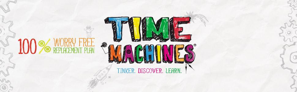 Timex Time Machines with 100% worry-free replacement plan.