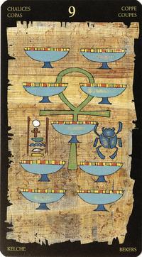 The Egyptian Tarot Kit Lo Scarabeo 9780738704487 Amazon