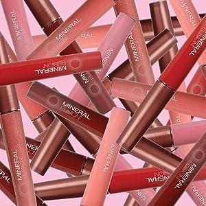 mineral fusion lip gloss, natural cosmetics