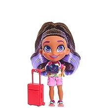 hairdorables, youtube show, skylar, traveller, collectible doll