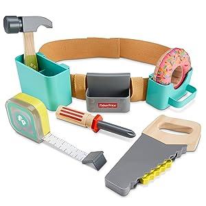 Fisher-Price DIY Caja de herramientas, juguetes construcción niños +3 años (Mattel GGT60): Amazon.es: Bebé