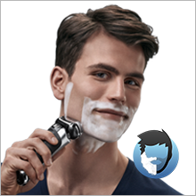 Braun Series 9 9296cc Men's Electric Foil Shaver, Wet and Dry with Clean and Renew Charge Station