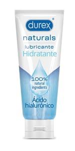 Durex Naturals H2O Lubricante Base Agua, 100% natural sin ...