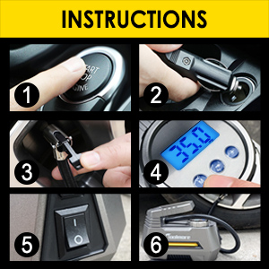 air compressor tire inflator