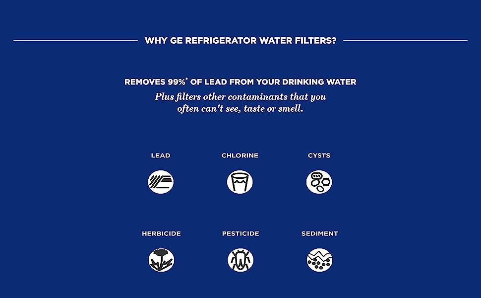 Genuine RPWFE Refrigerator Water Filter