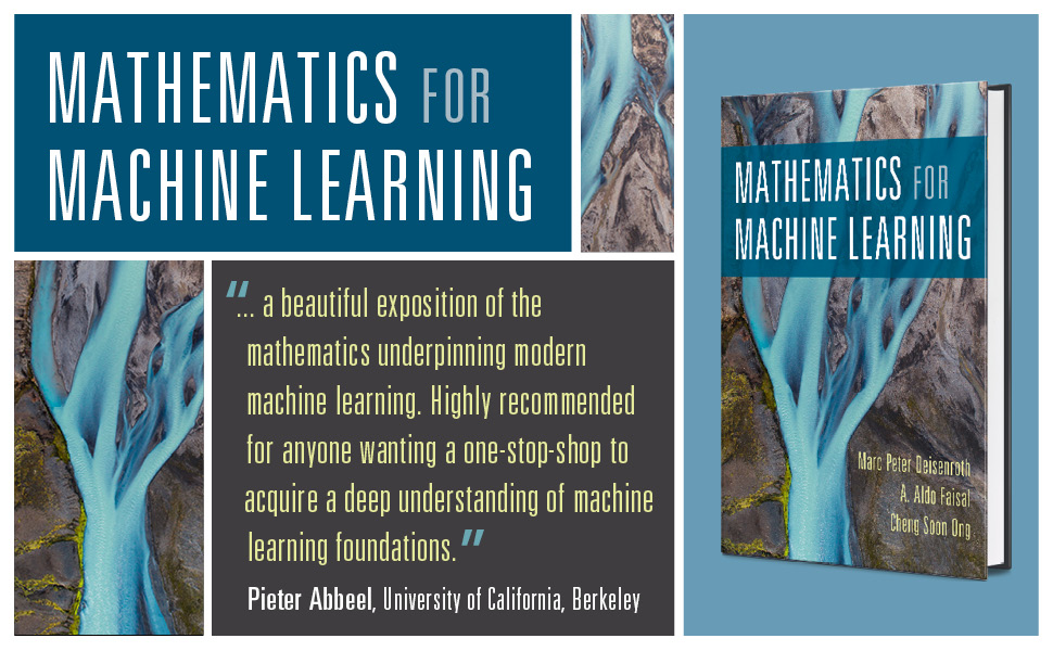 Mathematics for Machine Learning, Cambridge University Press, linear algebra