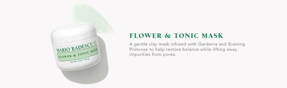 Amazon.com: Mario Badescu Flower & Tonic Mask, 2 oz.: Luxury ...