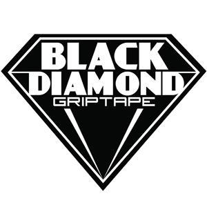 "Black Diamond Skateboard Grip Tape Sheet White Checkers 9/"" x 33/"" Griptape"