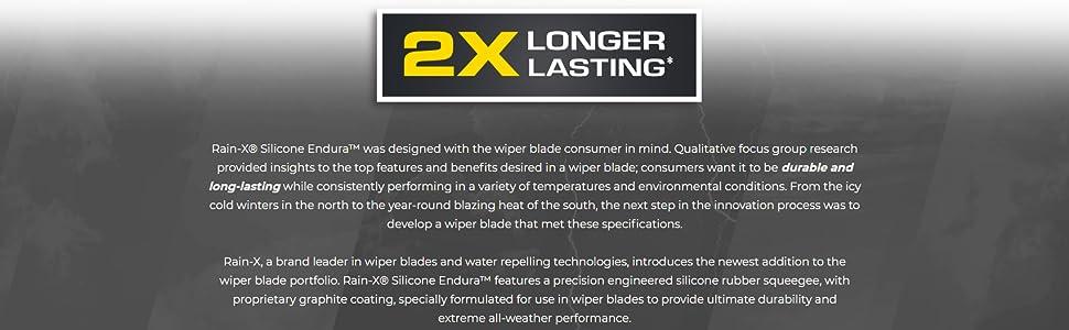 Silicone Wiper Blades, Rainx wipers, Rain-X Wiper blades, Bosch Wiper blades, Trico Wipers
