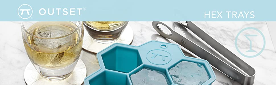 ice cube tray; silicone tray; silicone ice cube tray; hex moulds; hex ice cube trays; hexagon tray