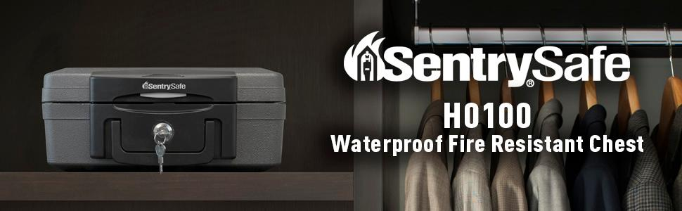 Waterproof Fire Resistant Chest, Water resistant fireproof safe