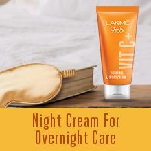 Lakme Vitamin C+ Night Cream 50 g