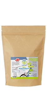 manako BIO-Kokosmehl, gemahlen, 1000 g Beutel (1 x 1 kg)