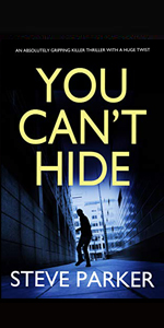you cant hide steve parker joffe books crime fiction thriller kindle murder mystery detective di