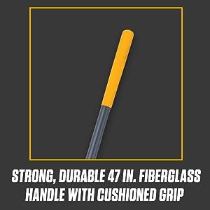 true temper, round point shovel, excavator shovel, comfort step, fiberglass handle