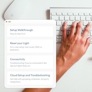 Customer Info and Walkthrough