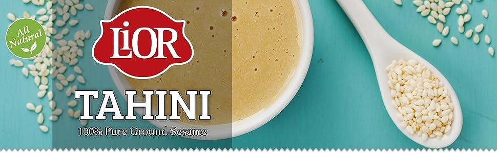 LiOR All Natural Sesame Tahini