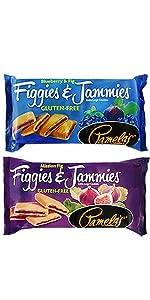 Figgies and Jammies Fig Bar Cookies