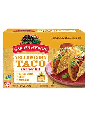 yellow;corn;taco;dinner;kit
