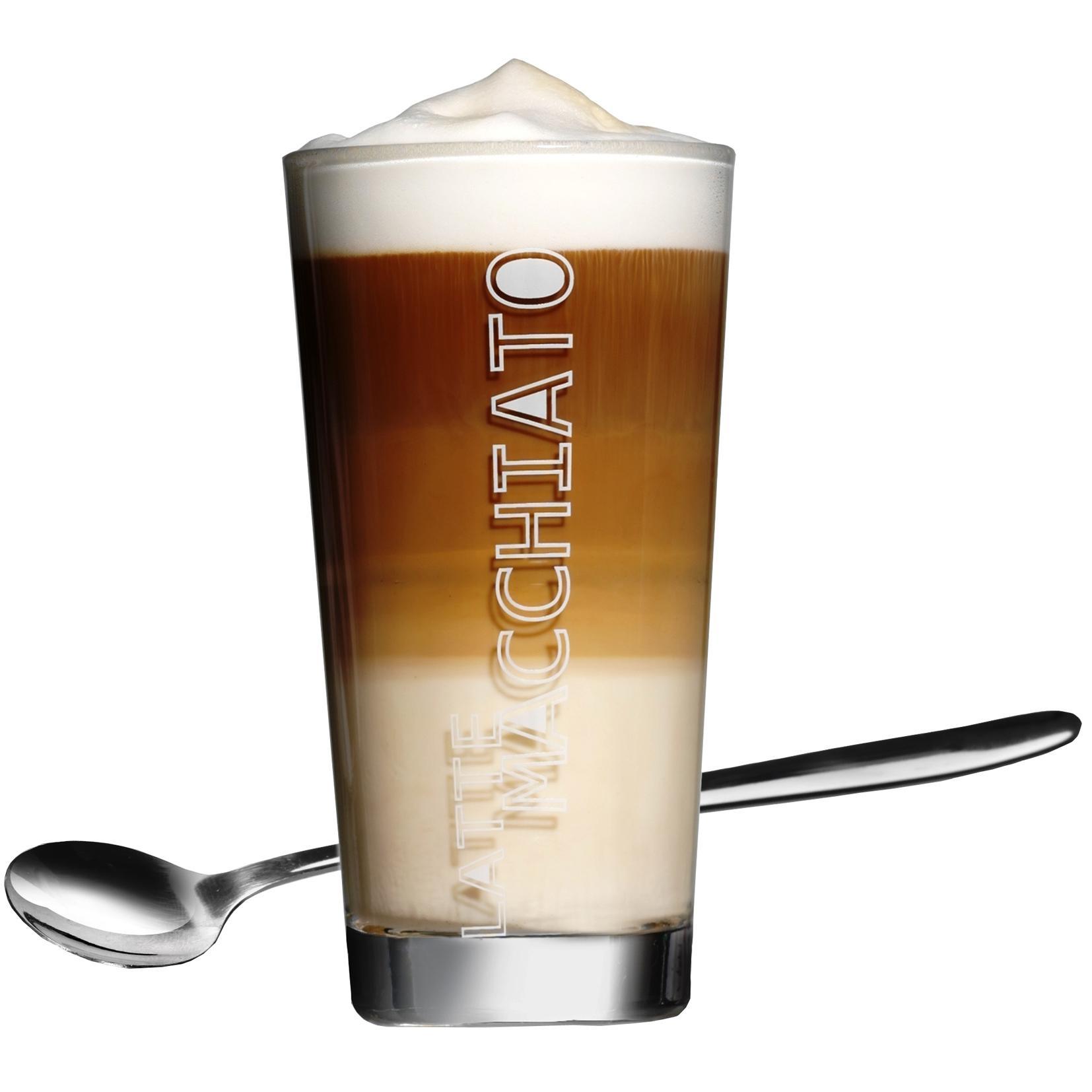 Ritzenhoff & Breker Latte Macchiato Gläser Lena mit Löffel ...