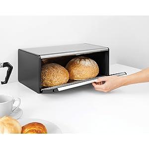 Brabantia, breadbin, bread bin, bread basket, kitchen