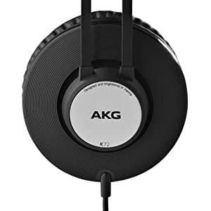 AKG K72 High Performance Closed-Back Monitoring Headphones