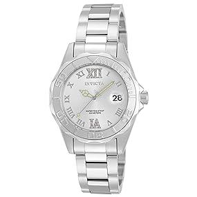 Invicta 12851 Pro Diver Reloj para Mujer acero inoxidable Cuarzo ... 82e310b08476