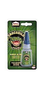 colla istantanea pattex crocodile coccodrillo forte