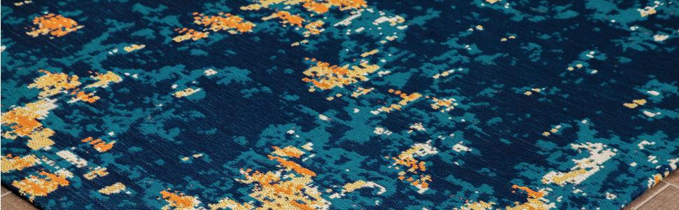 Amazon.com: Anji Mountain AMB9016 Bilbao, alfombra de 1/4 ...