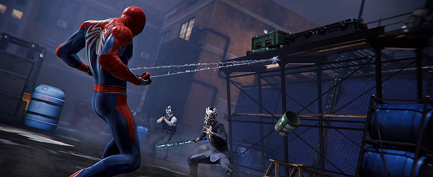 Amazon com: Marvel's Spider-Man - PlayStation 4: Sony