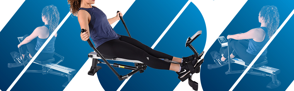 stamina products rowing machine 1052 bodytrac glider
