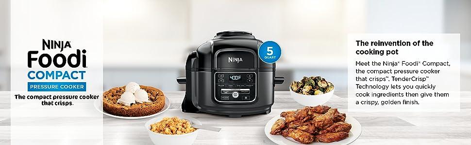 OP101, Ninja, Foodi, Multi-cooker, Top banner