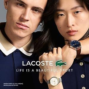 Lacoste - Herren -Armbanduhr 2010766: Amazon.de: Uhren