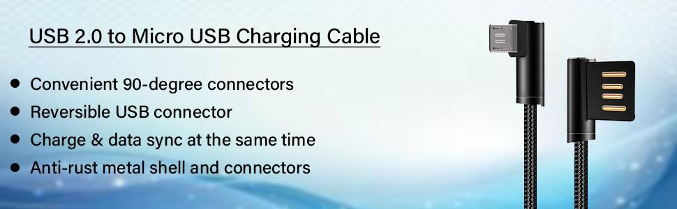 pTron Solero USB to Micro USB cable