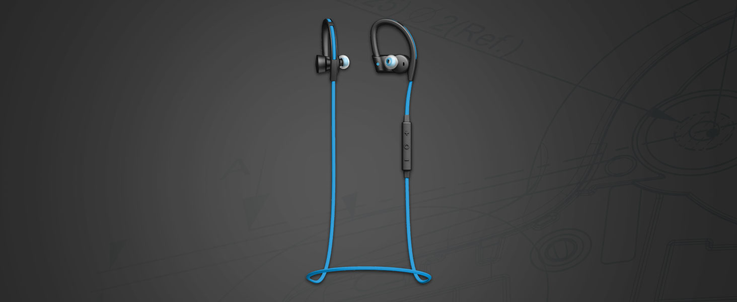 Wireless Headphones for Running & Workouts