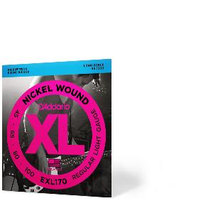 DAddario EXL165 - Juego de cuerdas para bajo eléctrico de níquel ...