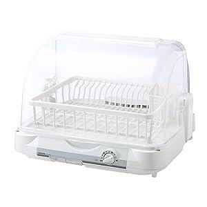 KOIZUMI 小泉 koizumi コイズミ 食器乾燥機 樹脂かご カゴ ホワイト KDE-5000/W
