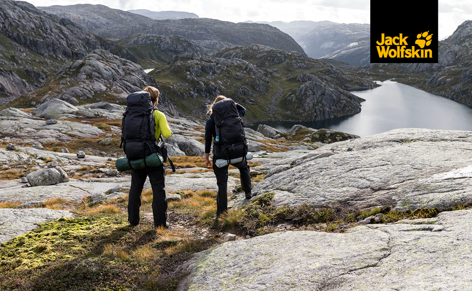 jack wolfskin damen herren wander-schuhe wasserdicht robust atmungsaktiv hiking bergsteigen outdoor