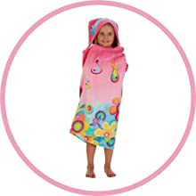 DREAMWORKS TROLLS HOODED TOWEL WRAP
