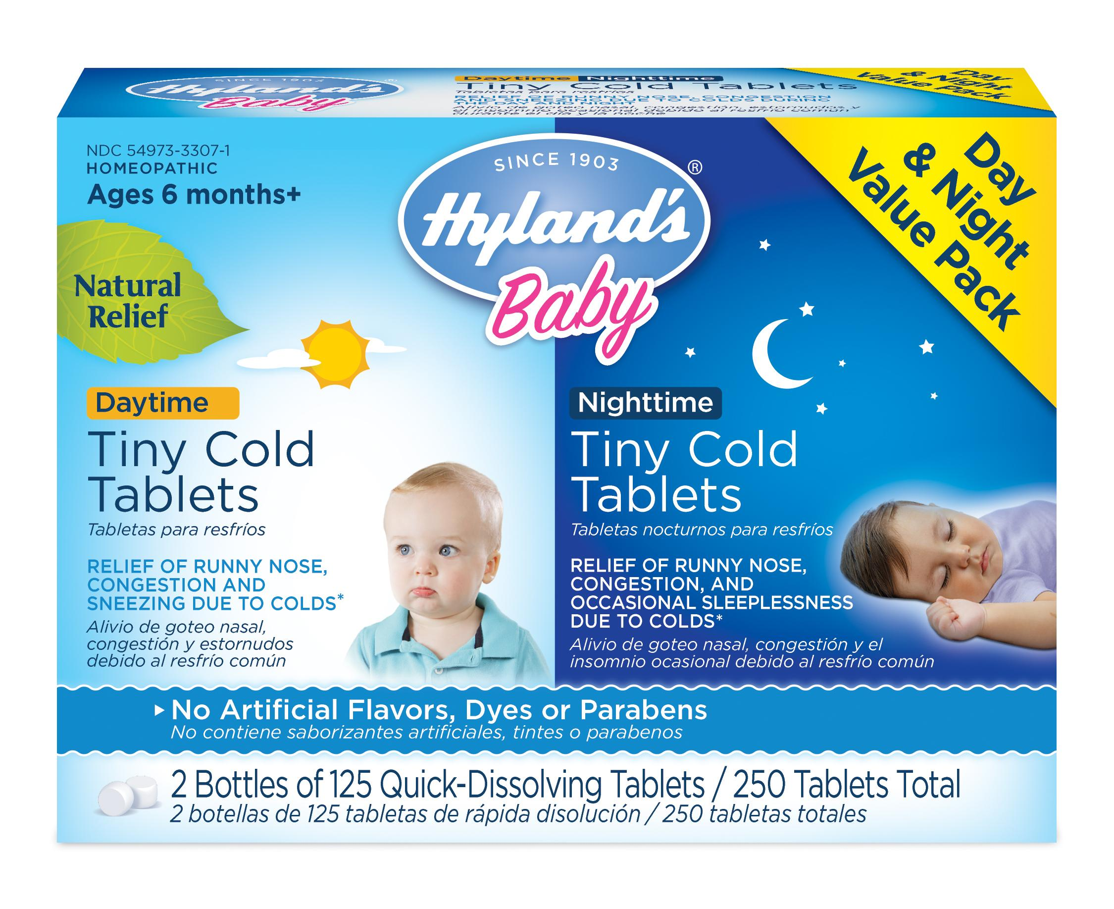 Amazon Com Hyland S Baby Day Amp Night Tiny Cold Tablets