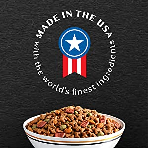 Dog Food Made in USA Only, Miniature Dog Food, Toy Breed Dog Food, Tiny Dog Food, Small and Mighty