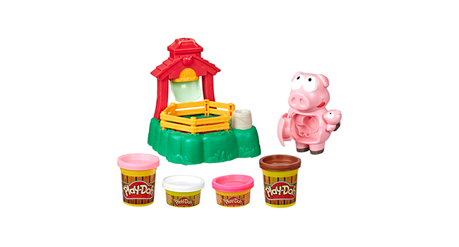 Includes 4 Non-Toxic PLay-Doh Cans