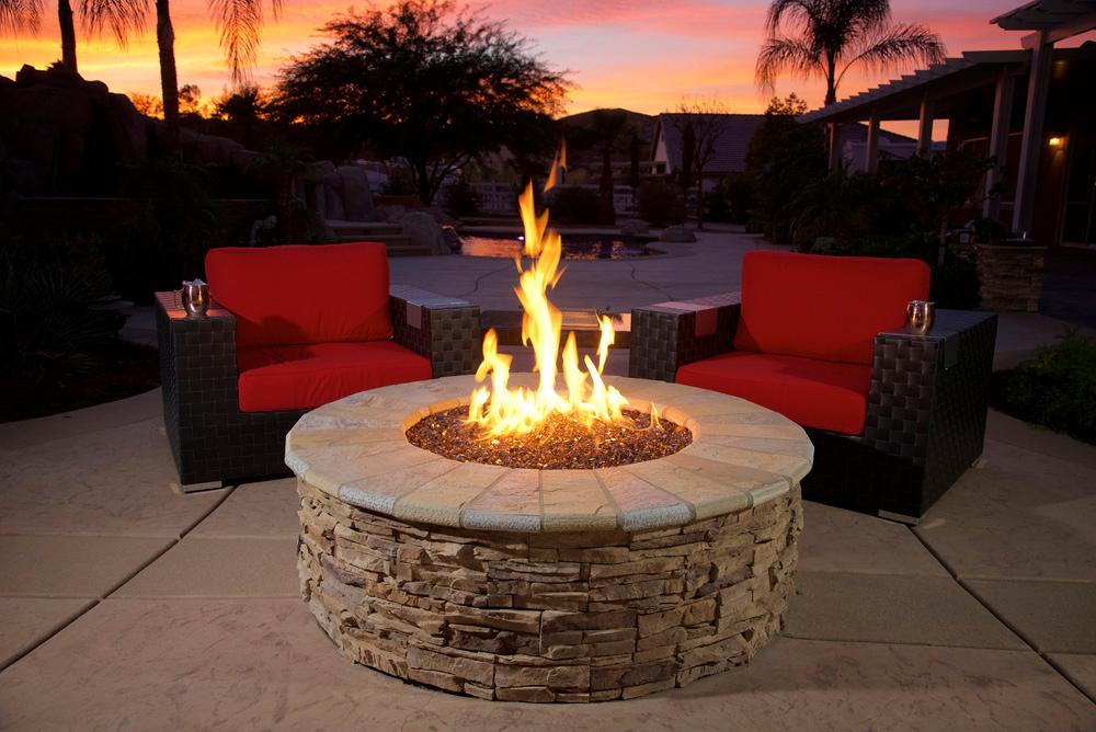 Amazon Com American Fireglass 10 Pound Reflective Fire