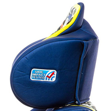 adjustable headrest for comfort and safety for a year old four boostsr girls latch under old