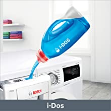 Bosch original front loading washing machine 9 kg with automatic dosing system