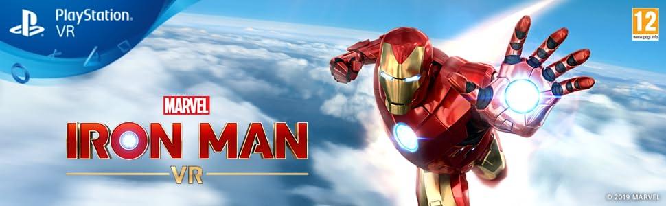 marvel, iron man, vr, playstation, ps4