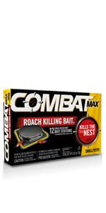 Combat Max Small Roach Bait 12ct ...