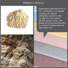 HOUZE - Diatomite Absorbent Mat (Large) : Diatomite and paper fiber composition is highly absorbent