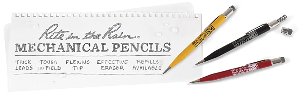 Rite in the Rain Mechanical Pencils and Refills