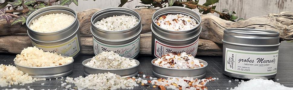 direct&friendly grobes Meersalz 7 Bio Kräuter Salz im